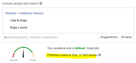 Boost Post Audience Size
